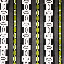 Jet Geometric Decorator Fabric by S. Harris