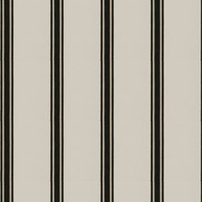 Raven Stripes Decorator Fabric by Stroheim