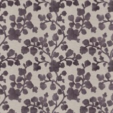 Amethyst Floral Decorator Fabric by Trend