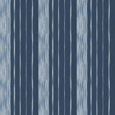 Navy Stripes Decorator Fabric by Trend