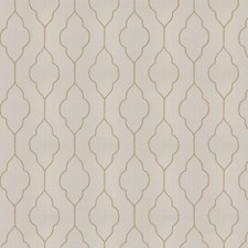 Sesame Natural Embroidery Decorator Fabric by Trend