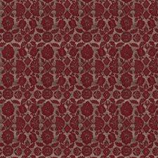 Scarlet Floral Decorator Fabric by Fabricut