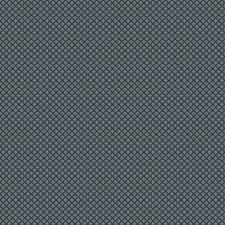 Indigo Small Scale Woven Decorator Fabric by Trend