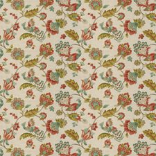 Coral Reef Floral Decorator Fabric by Trend