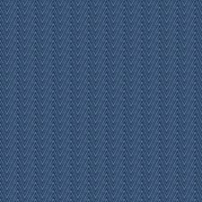 Blue Herringbone Decorator Fabric by Fabricut