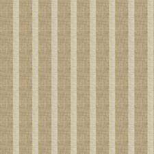 Burlap Stripes Decorator Fabric by Fabricut