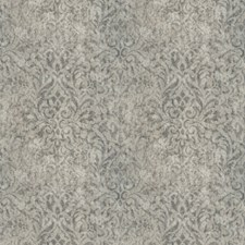 Arctic Ice Damask Decorator Fabric by Vervain