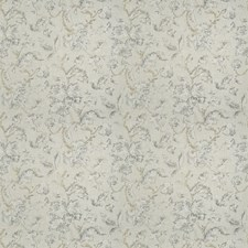 Ash Floral Decorator Fabric by Trend