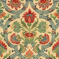 Multi Jacobeans Decorator Fabric by Lee Jofa