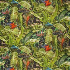 Verdant Floral Decorator Fabric by S. Harris