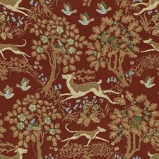 Berry Animal Decorator Fabric by Lee Jofa