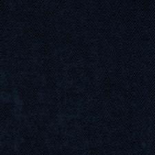 Navy Herringbone Decorator Fabric by Trend