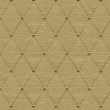 Beige/Yellow Diamond Decorator Fabric by Kravet