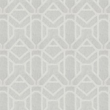 Snowflake Embroidery Decorator Fabric by Fabricut