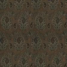 Terra Cotta Paisley Decorator Fabric by Stroheim