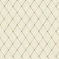 White/Yellow Diamond Decorator Fabric by Kravet