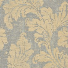 Blue Beige Decorator Fabric by RM Coco