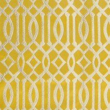 Golden Yellow Decorator Fabric by Scalamandre