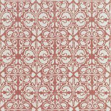 Red/White Geometric Decorator Fabric by Kravet