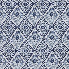 China Blue Decorator Fabric by RM Coco