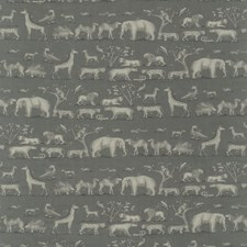 Storm Animal Decorator Fabric by Andrew Martin