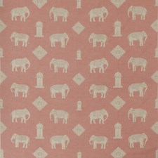 Pink Novelty Decorator Fabric by Andrew Martin
