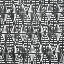 Coal Ethnic Decorator Fabric by Pindler