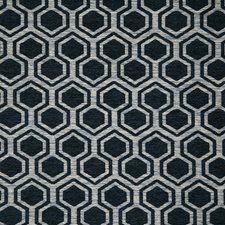 Navy Contemporary Decorator Fabric by Pindler