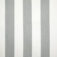Grey Stripe Decorator Fabric by Pindler