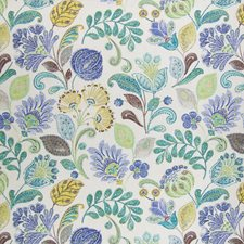 Island Floral Decorator Fabric by Greenhouse
