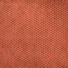 Spice Geometric Decorator Fabric by Greenhouse