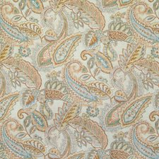 Copper Paisley Decorator Fabric by Greenhouse