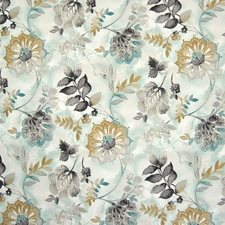 Spa Floral Decorator Fabric by Greenhouse