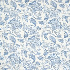 Sky Floral Decorator Fabric by Greenhouse