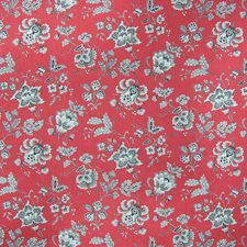 Redcoat Floral Decorator Fabric by Greenhouse