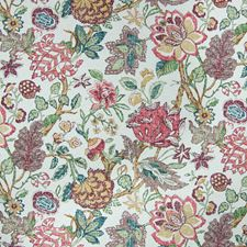 Woodrose Floral Decorator Fabric by Greenhouse