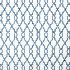Marina Lattice Decorator Fabric by Greenhouse