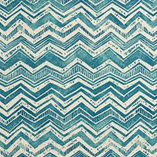 Blue Diamond Geometric Decorator Fabric by Greenhouse