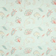 Aquarius Floral Decorator Fabric by Greenhouse