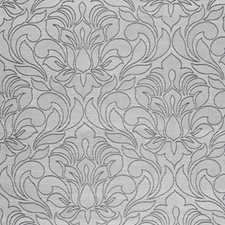 Liquid Silver Decorator Fabric by RM Coco