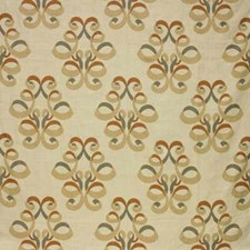 Clay/Taupe Print Decorator Fabric by Lee Jofa