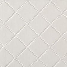 White Satin Metallic Decorator Fabric by Kravet