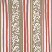 Antique Rose Embroidery Decorator Fabric by G P & J Baker