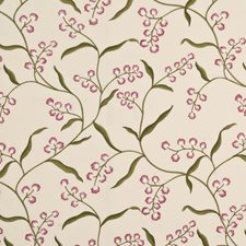 Rose/Spring Embroidery Decorator Fabric by G P & J Baker