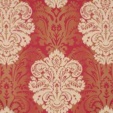 Brick Damask Decorator Fabric by G P & J Baker
