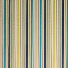 Indigo/Teal/Graphite Stripes Decorator Fabric by G P & J Baker