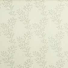 Silver Embroidery Decorator Fabric by G P & J Baker