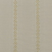 Silver/Gilt Embroidery Decorator Fabric by G P & J Baker