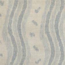 Blue/Nat Ikat Decorator Fabric by Lee Jofa