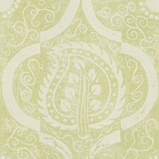 Lime Botanical Decorator Fabric by Lee Jofa